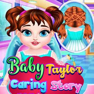 Baby Taylor Caring Story New Hairstyle Crie Um Penteado Fabuloso Para Taylor