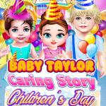 Baby Taylor Caring Story Children's Day