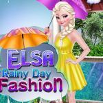 Elsa Rainy Day Fashion