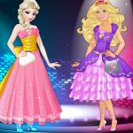 Elsa Vs Barbie Fashion Contest