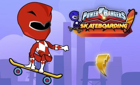 Power Ranger Skateboading