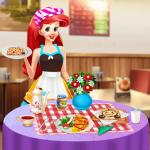 Princess Ariel Breakfast Cooking 1