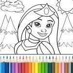 Princess Coloring