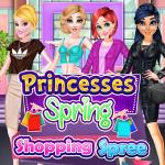 Princesses Spring Shopping Spree