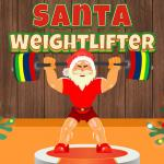 Santa Weightlifter