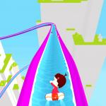 Slippery Water Slides Aquapark.io